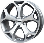 386 MG FELGI 17 5x108 FORD FOCUS MONDEO KUGA